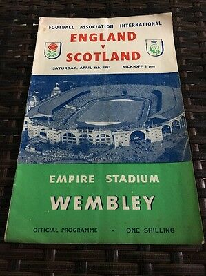 England V Scotland 6th Apr 1957