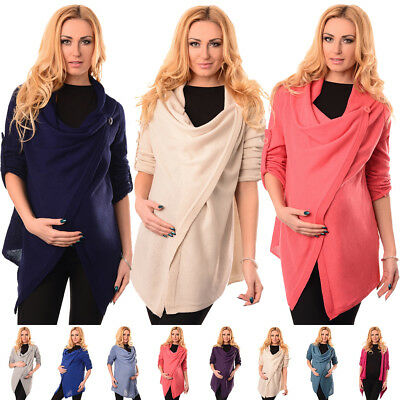 Purpless Maternity Pregnancy and Nursing Cardigan Jumper Sweater Pullover 9005