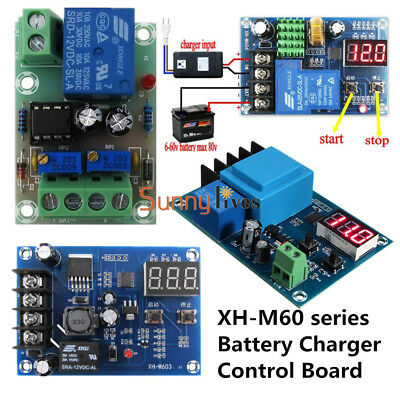 Battery Charging Control Board Charger Power Supply Switch Module 12V/24V 6-60V