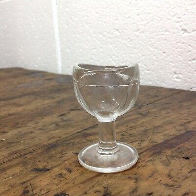 Antique Glass Eye Bath