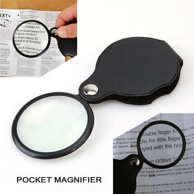 10x Pocket Hand Sized Monocle Magnifying Magnifier Foldable Loupe Glass Loop LW