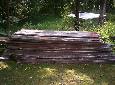 Salvaged rustic decorative galvanized corrugated sheet metal roof tin.sold by '.