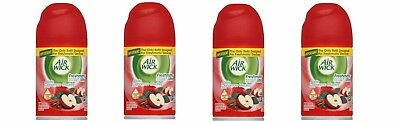 4 Air Wick Freshmatic Apple Cinnamon Medley Refill, Aerosol, 6.17 oz ea New