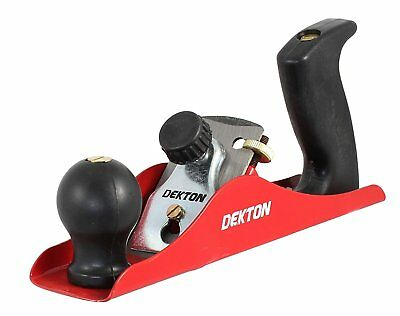 New Dekton 234mm Smoothing Wood Plane With Ergonomic Handle Woodworking DT40210
