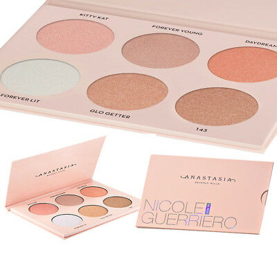 Anastasia Beverly Hills Makeup Face Nicole Guerriero Glow Kit Powder Highlighter