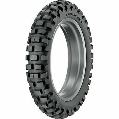 120/90x18 Tube Type Dunlop D606 Dual Sport Tire-Rear D.O.T. approved
