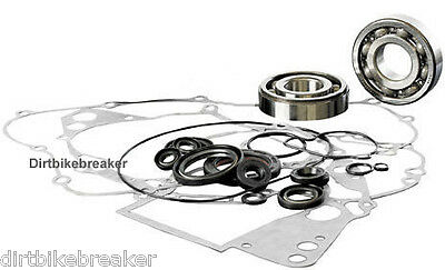 Kawasaki KMX 125 (1988-2002) Engine Rebuild Kit Main Bearings Gasket Set & Seals