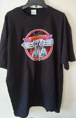 Van Halen Concert Tour T Shirt 07-08 Black X Large