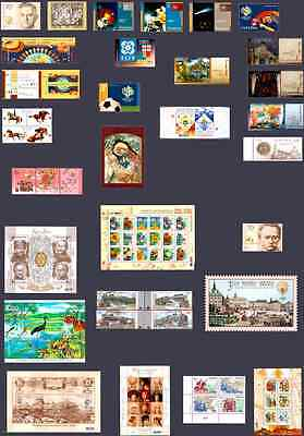 Ukraine COMPLETE FULL YAER Set of stamps 2006 IN FULL SHEETS blocks MNH