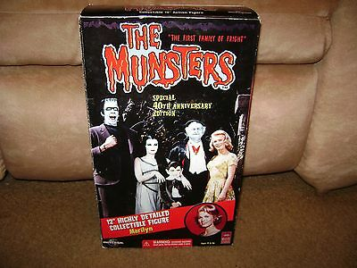 """Majestic Studios The Munsters Marilyn Doll...40th Anniversary...12""""...NEW"""