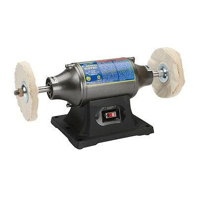 "6"" Inch Bench Table Top Buffing Machine Polisher Buffer Smoothing Polishing Tool"