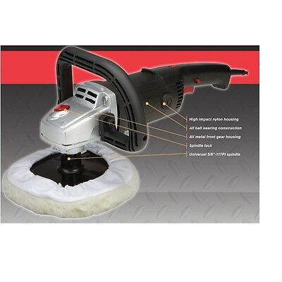 7 inch 10 Amp Variable Speed Polisher Buffer Waxer Sander New  car, truck,