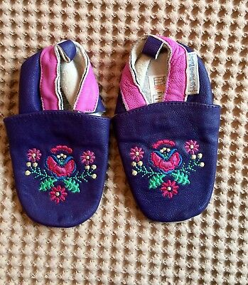 Leather JoJo Maman Bebe shoes 12-18 months