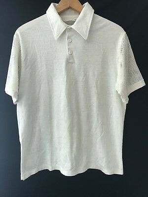 70's Mens Kings Road Polo Shirt Size S