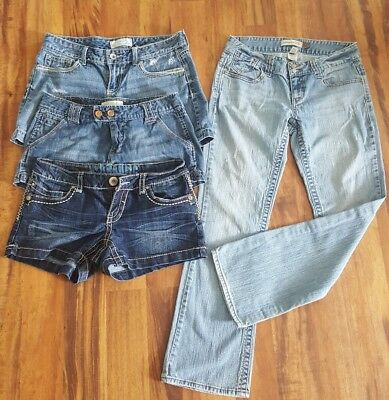 Lot of  Maurices Shorts and Aeropostale Jeans SZ 7/8