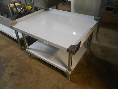 "Atosa 36"" Stainless Steel Equipment Stand with Undershelf ATSE‑2836 #2545N"