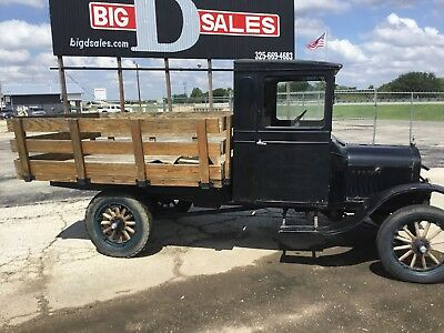 1924 Ford Model T  1924 Ford Model TT One Ton Truck Survivor