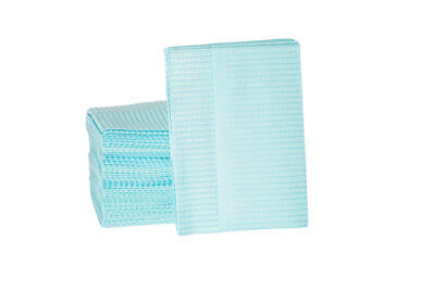 Dental Bibs - 2ply Tissue/1 Ply Poly 500/case - Preventatives - Free Shipping