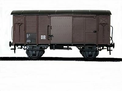Zenner COVERED GOODS WAGON GAUGE 2 (64 mm, 1 : 22,5) The Dr