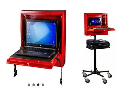 """Auto body frame machine / Laptop Wall Mount Computer Station """"NEW IN BOX""""."""