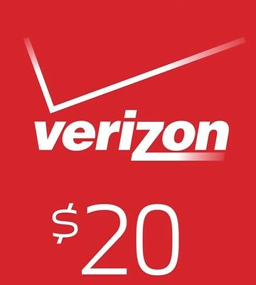 $20Verizon Prepaid Monthly refill Direct Fast Refill 7 DAYS Services