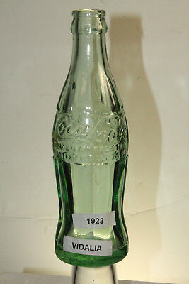 Vidalia Ga Coca Cola Bottle Dec 25 1923 Scarce