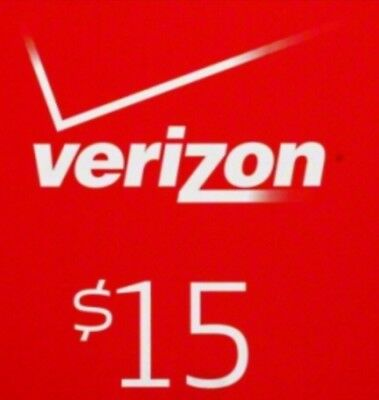 $15 Verizon Prepaid Monthly refill Direct Fastest Refill,7 DAYS Services