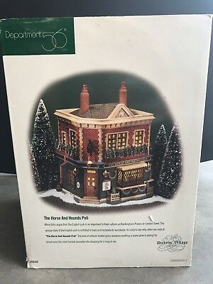 Dept 56 Dickens Village The Horse And Hounds Pub #56.58340