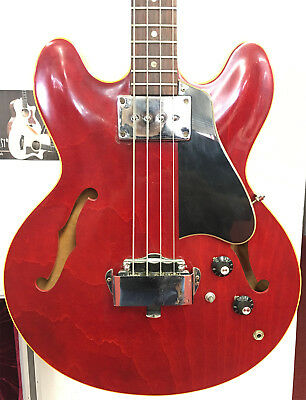 Vintage 1968 Gibson EB-2 Electric Bass Guitar ( s/n 527163 ) w/ Case