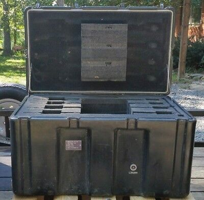 Hardigg 36 x 22 x 20 Hinged Lid Military Wheeled Case Pelican Shipping Trunk
