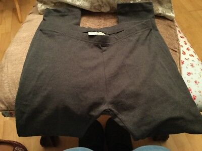 GIRLS GREY LEGGINGS NEW NO TAGS FROM NEXT AGE 9 Yrs Ankle Length