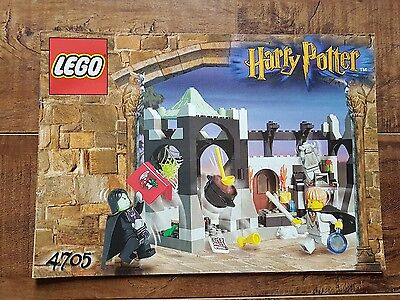 Harry Potter LEGO - 4705 Snape's Class Instruction Manual Only