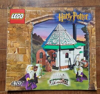 Harry Potter LEGO - 4707 Hagrid's Hut (1st edition) Instruction Manual Only