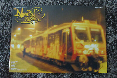 Number One #3 Graffiti Magazin Basel Cope2 Special