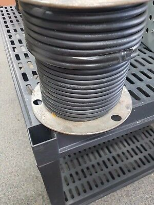 148' Belden 8426 20 AWG 6C EPDM Rubber Black Microphone/Musical Instrument Cable