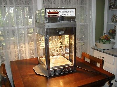Vintage Glenray Hot Dog Machine - Model 56 - 120V - 900W - Stainless Steel