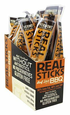 Vermont Smoke and Cure - Real Sticks Beef with BBQ Seasonings - 1 oz.