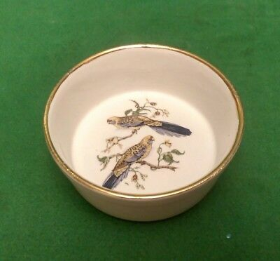 Small Dartmouth Pottery Dish decorated with Birds