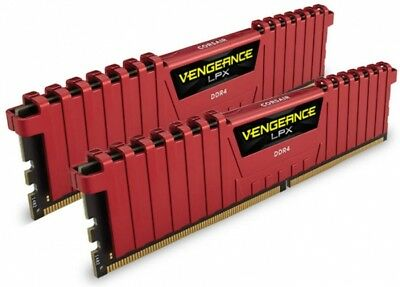 Ram DIMM DDR4 16GB Corsair Vengeance LPX PC 2400 [2x8Gb CMK8GX4M1A2400C16R]