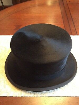 Black Silk Top Hat and Spats