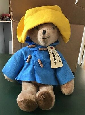 "Vintage 1975 about 19"" Paddington Bear, Darkest Peru to London England"