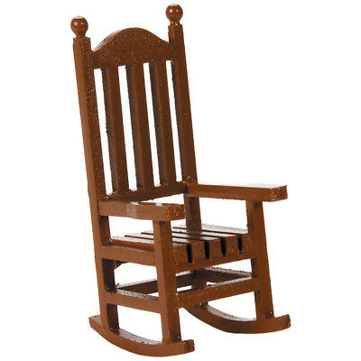 Timeless Miniatures Wood Rocking Chair 9190-562