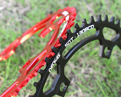 130BCD chainring narrow wide Circle 1x System for Folding bike 50 52T 58T