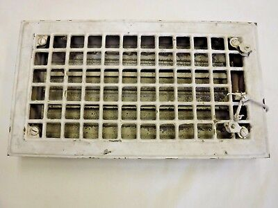 Antique Metal Floor Register Heating Grate