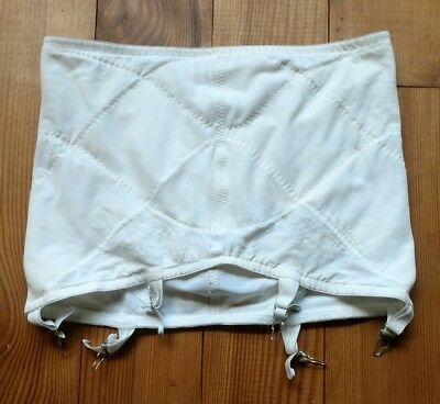 Sears Vintage Ivory Open Girdle with Garters Size 38