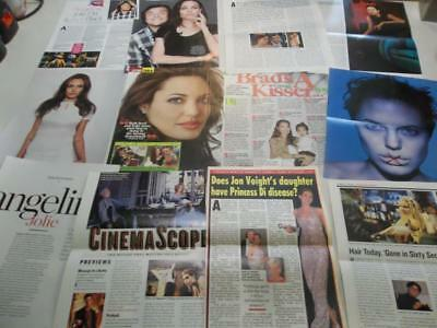 Angelina Jolie 235 clippings #Q45   all are shown