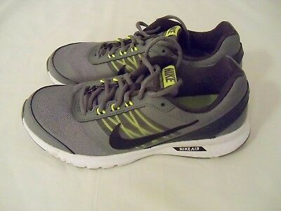 73f36347e16 Nike Men s Air Relentless 5 Running Shoes Size 10 Grey Black Anthracite  White