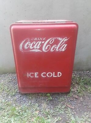 Vintage, Antique Original 1930s Westinghouse Jr. Coca-Cola Coke Machine Chest