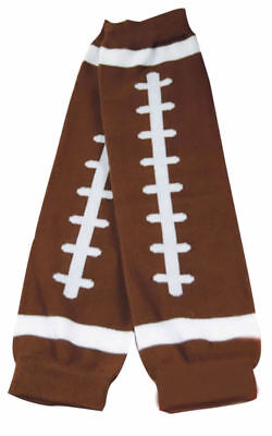 NEW Football Touchdown Infant Baby Boys Girls Brown Leg Warmers