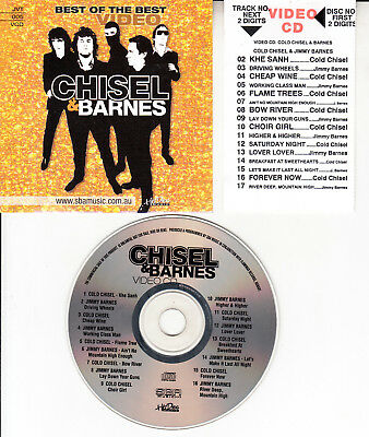Cold Chisel & Jimmy Barnes (Greatest Hits / Best Of) Vcd Music Videos